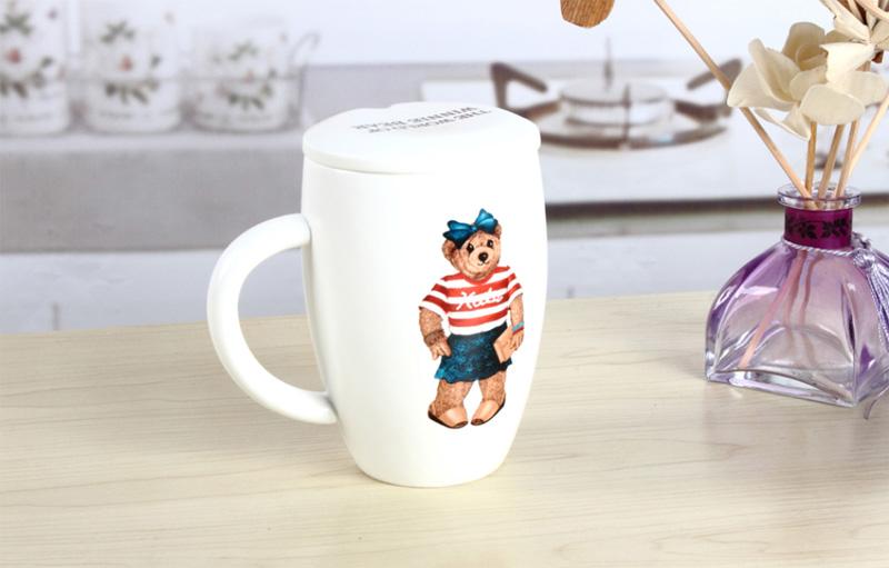 维尼熊陶瓷水杯