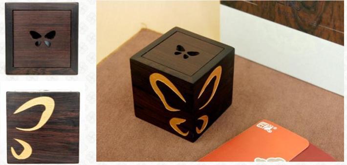 """""""化蝶""""音乐盒"""