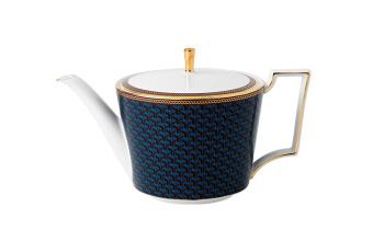 拜占庭蓝色大茶壶