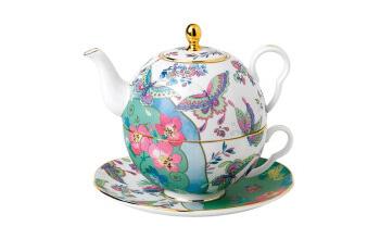 花间舞蝶一人悦享茶具