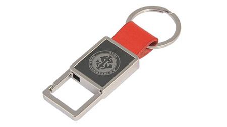 个性皮质钥匙扣