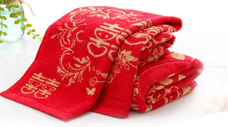 婚庆毛巾套装