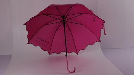 荷叶边女士伞