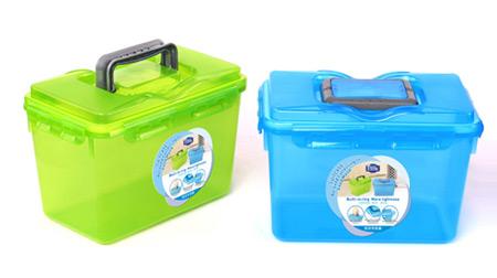 手提式透明储物箱