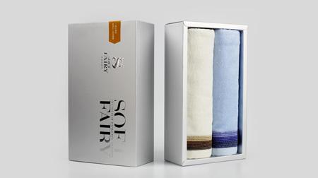 柔软的妖巾(专业礼盒毛巾)丝滑竹纤维毛巾