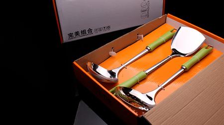 完美组合厨具三件组套装(炫彩)