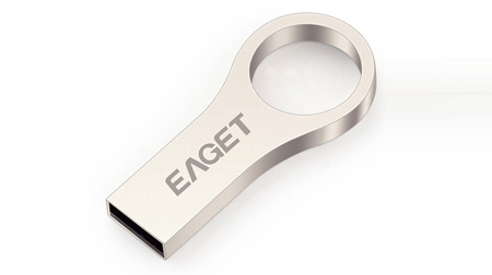 忆捷钥匙链U盘8G