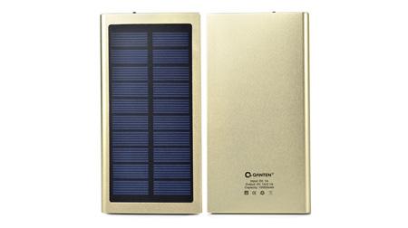 太阳能金属 移动电源