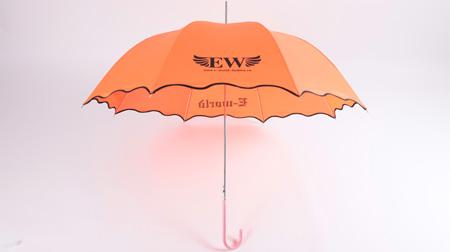 EW荷叶边伞