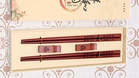 祥和中国福字两筷两架