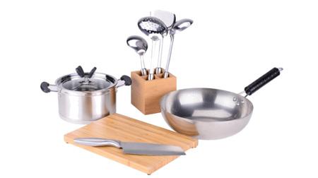 雅致厨房炒锅、汤锅、刀具 BH-T109