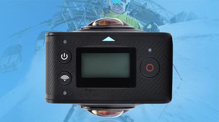 720度全景相机VR运动相机双鱼眼镜头