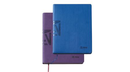 变色PU精装活页本、笔记本18K