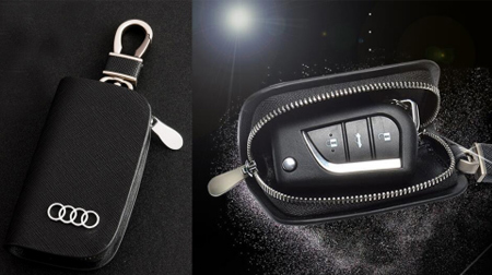牛皮汽车钥匙包