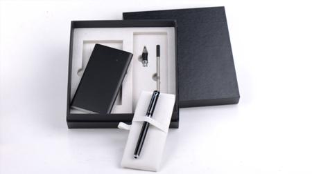 公爵GJ1002充电宝+两用笔(钢笔+宝珠)