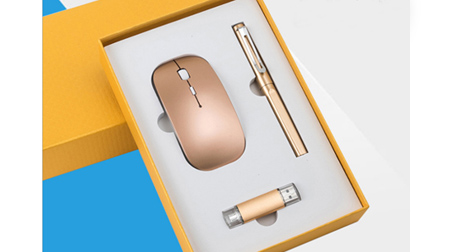 高档签字笔+手机U盘+2.4G无线鼠标