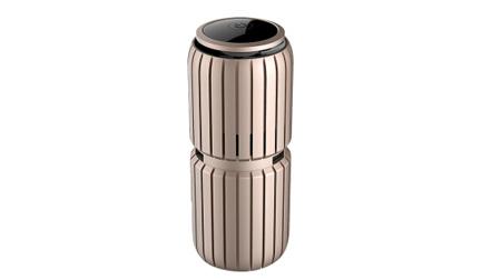荣事达RS-JC01R汽车车载空气净化器负离子自动净化 香槟金