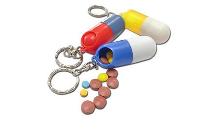 胶囊形药盒
