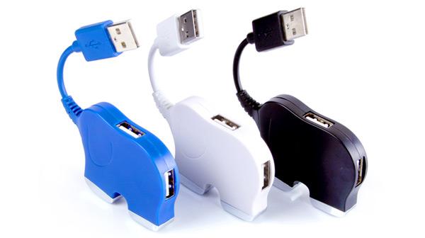 可爱的大象USB集线器YGH387