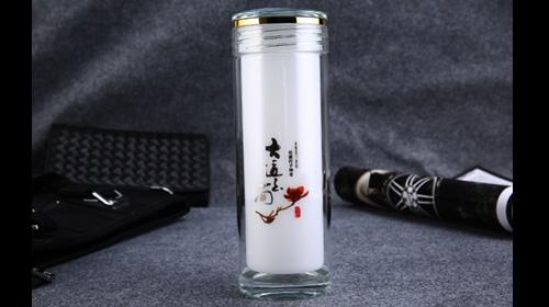 玉杯 双层玻璃杯