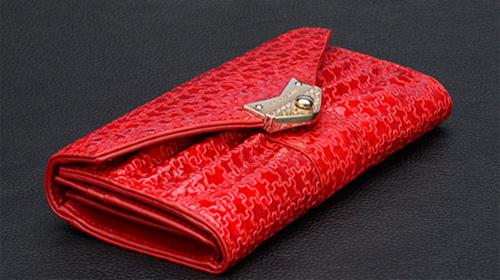 皮尔卡丹时尚女钱包