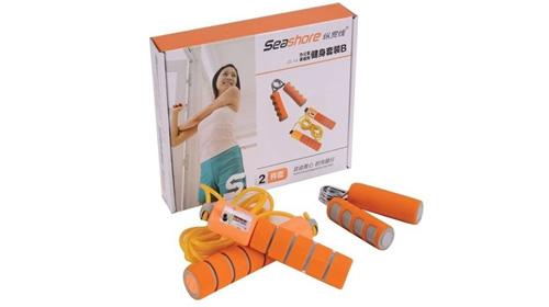 橙色活力健身套装2件套