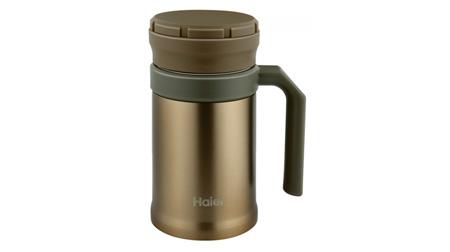 海尔男士专用不锈钢保温杯