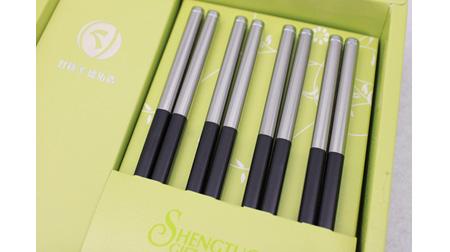 海纳百川 合金材料筷子