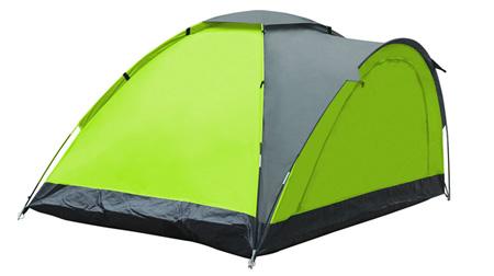 单层三人帐篷
