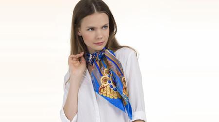 平安女士丝巾