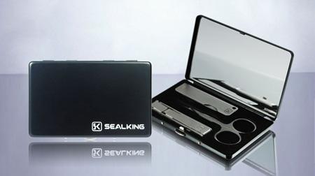 SK俊朗镜盒、不锈钢美甲套装