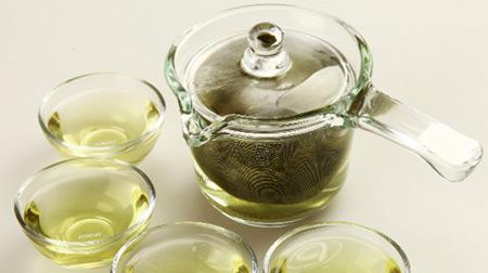 乐彩单柄耐热玻璃茶具组
