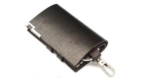 卡扣式休闲拉链钥匙包