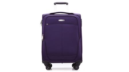 新秀丽四轮拉杆软箱 20寸 紫色
