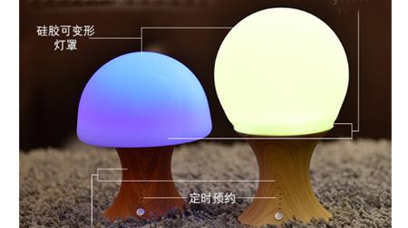 七彩硅胶灯