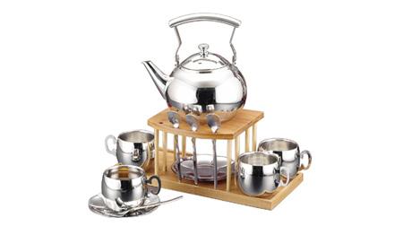 不锈钢(镀钛)茶具咖啡具套装
