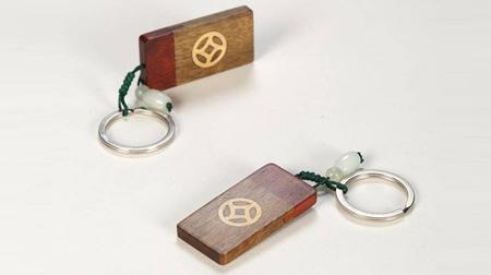 紫檀钥匙扣