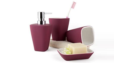 SCG硅胶漆陶瓷卫浴洗漱套装
