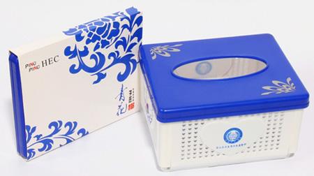 折叠纸巾盒