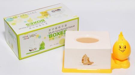 方形多功能纸巾盒
