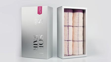 柔软的妖巾(专业礼盒毛巾)超丝滑莫代尔棉毛巾