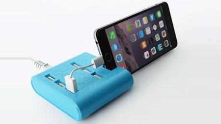 支架USB多口充电器