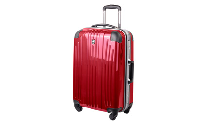 """瑞士瑞动24""""时尚铝框PC+ABS旅行拉杆箱"""