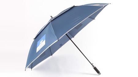 真双层高尔夫雨伞
