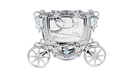 施华洛世奇元素 婚車相框- 2R相框