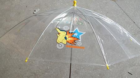19寸8K手开直杆伞、透明伞