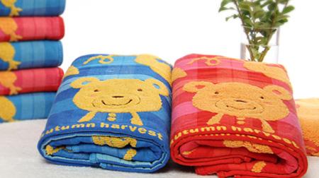 洁丽雅毛巾单条装礼盒(卡通款)