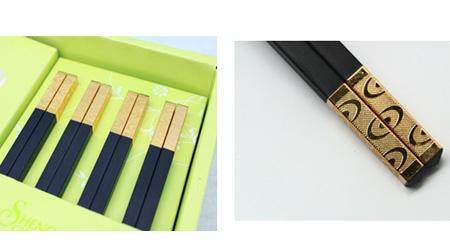 四季发财系列合金筷子