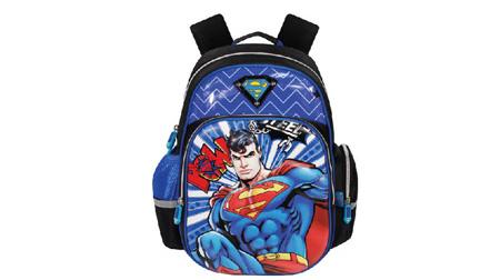 超人卡通书包