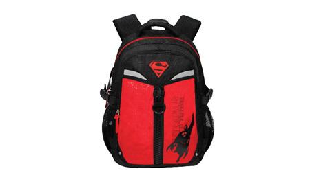 超人卡通休闲书包